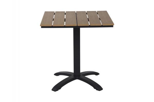 Cafebord - 70x70 cm - Brun nonwood
