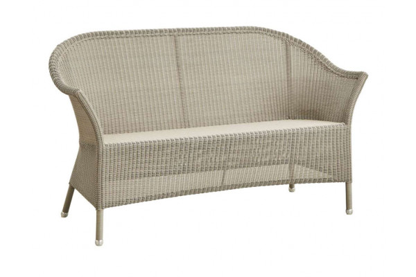 Cane-line Lansing 2 pers. sofa - Taupe