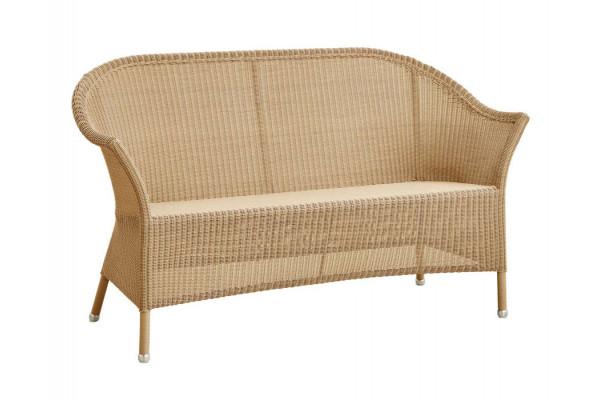 Cane-line Lansing 2 pers. sofa - Natural