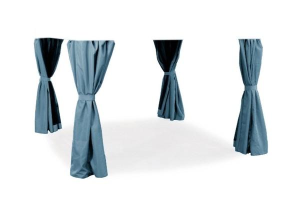 Extra Sider til Luxus Pavillon 3x3 m - Grå