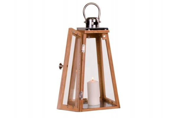 Image of   Lanterne træ - 41 cm
