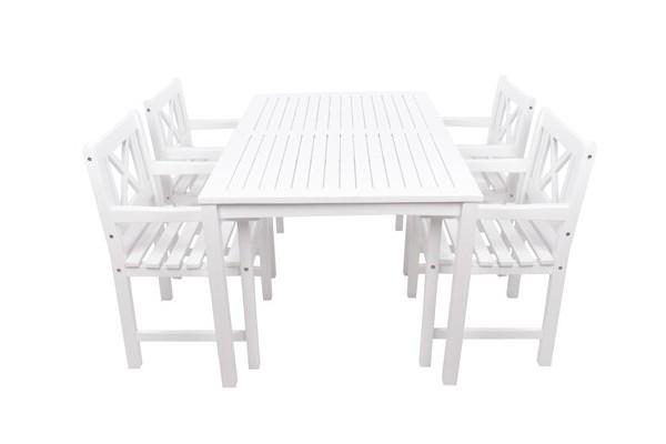 Image of   Amalienborg Havemøbelsæt m/4 stole