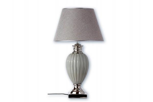 "Image of Bordlampe - Grå/sølv - 73 cm - 18"" skærm"