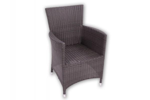 Manila Grå polyrattan stol