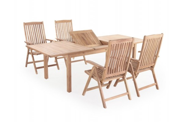 Image of   Alsa Devon Teak Havemøbelsæt