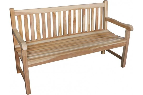 Image of   Solo Teak 3-pers. bænk