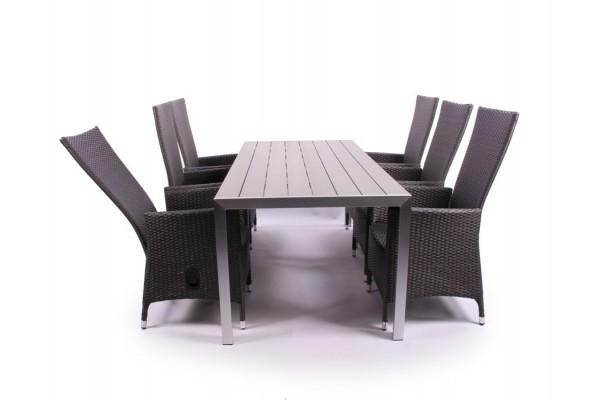 Pisa Havemøbelsæt - 90 x 205