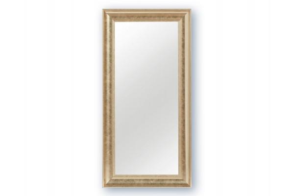 Spejl m/facetslebet glas - Sølv - 40 x 80 cm