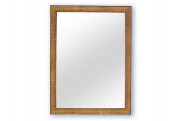 Spejl m/facetslebet glas - Sølv - 90 x 120 cm
