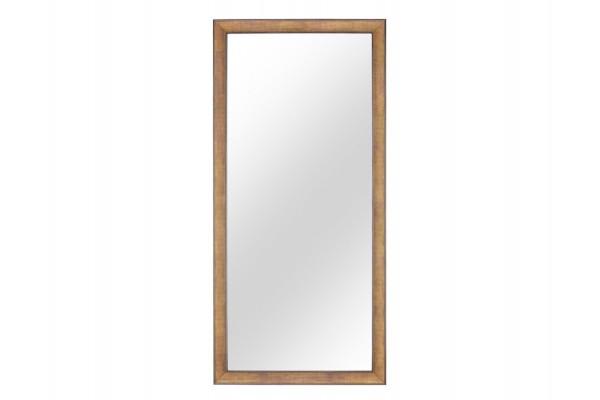 Image of   Spejl m/facetslebet glas - Sølv - 90 x 190 cm