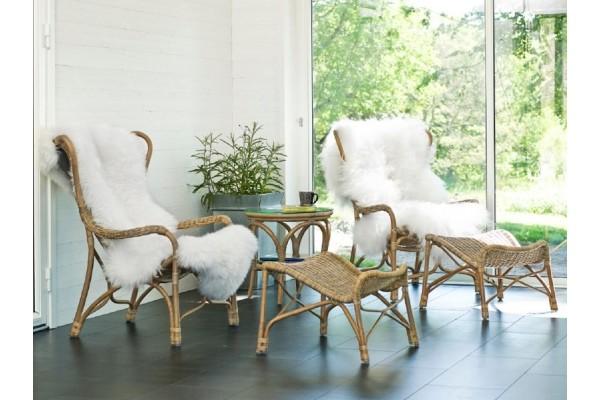 Image of   Padang Sæt m/lænestole, skamler og bord
