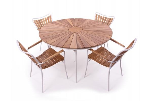 Image of   Rørvig 130 cm. Sæt med 4 stole