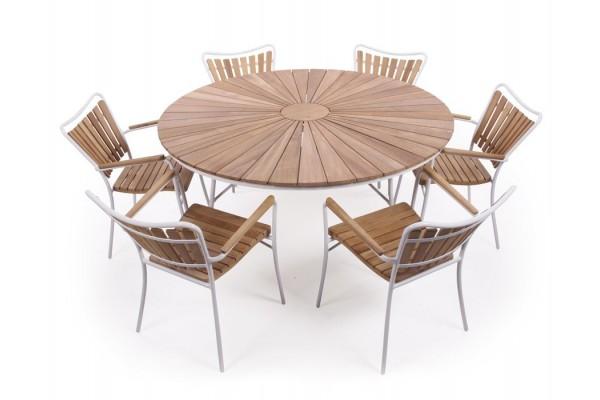 Image of   Rørvig 150 cm. Sæt med 6 stole