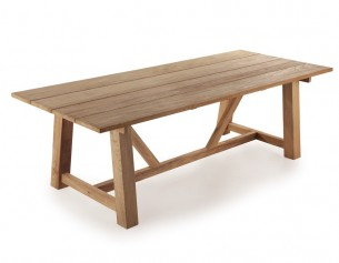 Teak Plankebord - 100x240 cm