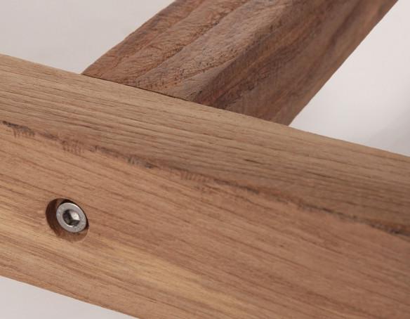 Hercules Teak Plankebord - 100x290 cm