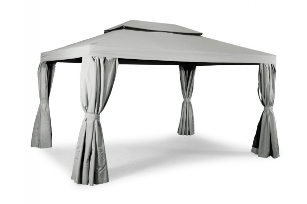 Luxus Pavillon 3x4 meter - Lys grå