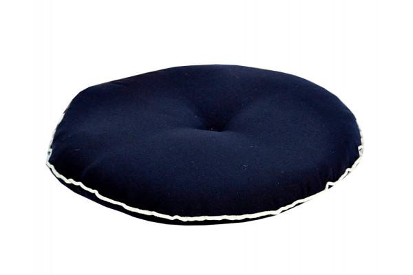 Fritab Eksklusiv Sædehynde - Ø 37 cm Blå