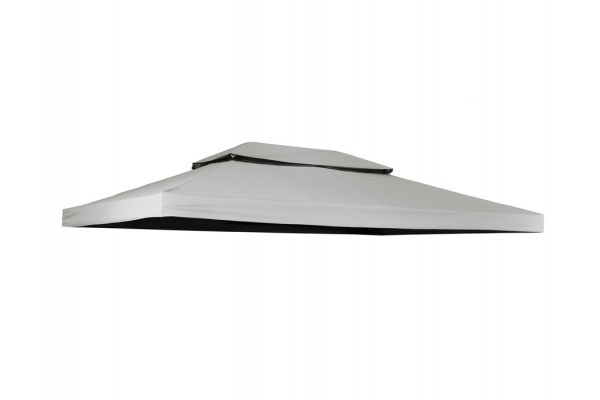 Extra tag til Luxus Pavillon 3x4 m - Lys grå