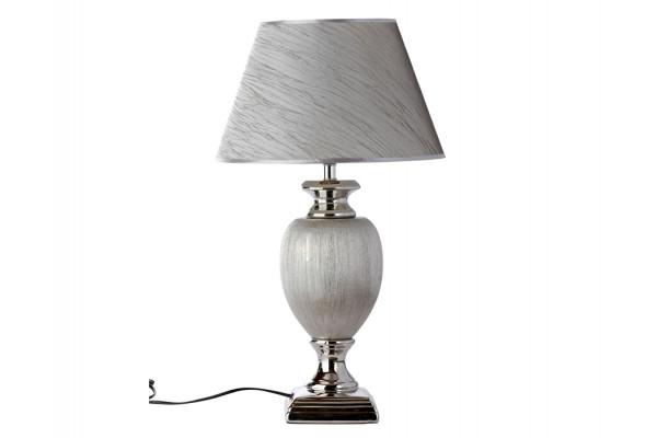 """Image of   Bordlampe - Sølv - 60 cm - 14"""" skærm"""