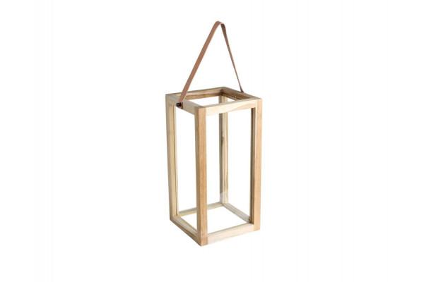 Image of   Lanterne - Teak - 32 cm
