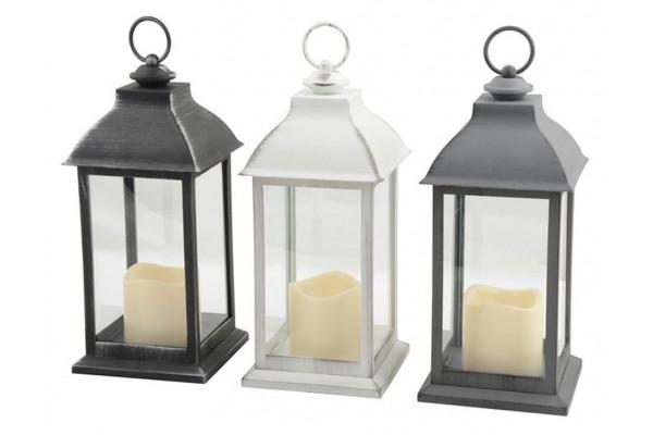 Image of   Lanterne m/LED lys - H: 30 cm