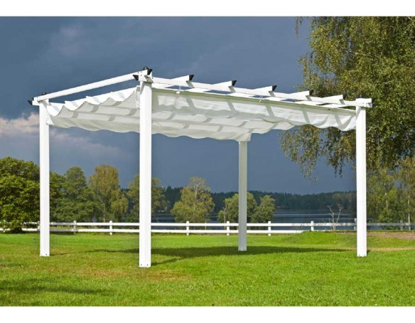 pergola pavillon 3x4 meter. Black Bedroom Furniture Sets. Home Design Ideas