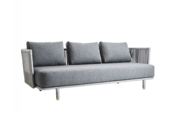 Image of   Cane-line Moments Loungesofa m/hynder