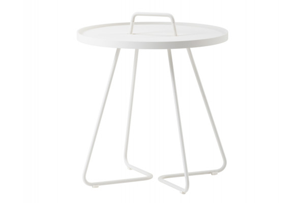 Image of   Cane-line On-the-move sidebord, Stor, White
