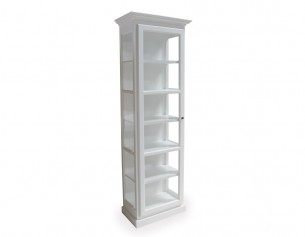 Glasskab - Hvid