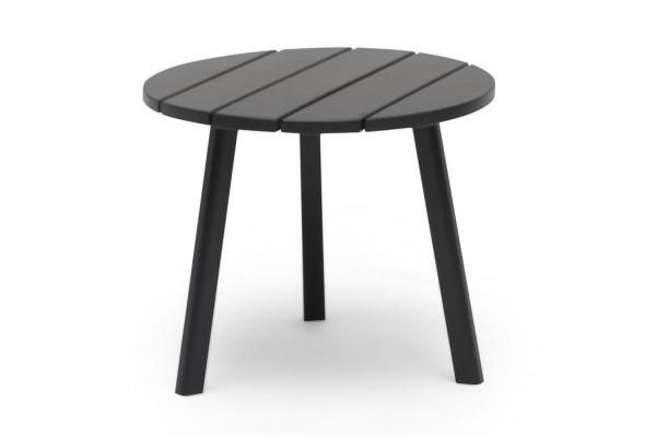 Image of   Sidebord - Ø 50 cm - Grå