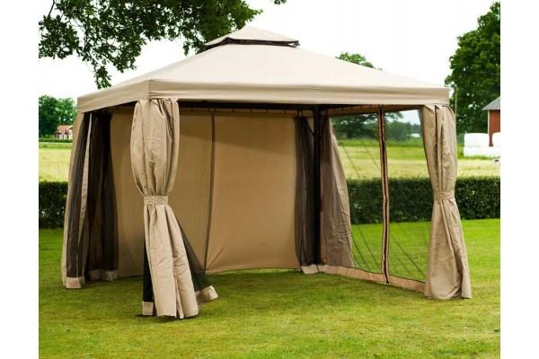 pavillon 3x4 meter pavillon ersatzdach x creme trendline. Black Bedroom Furniture Sets. Home Design Ideas