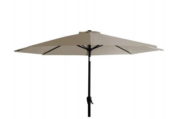 Image of   Alu parasol med tilt - Ø 3 meter - Sand
