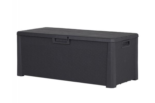 Image of Hyndebox - Plast - Antracitgrå