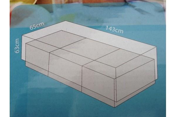Overtræk (143 x 65) til hyndebox