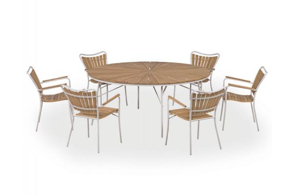 Image of   Rørvig 170 cm. Sæt med 6 stole