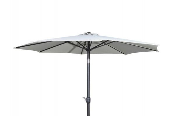 Image of   Alu parasol med tilt - Ø 3 meter - Beige