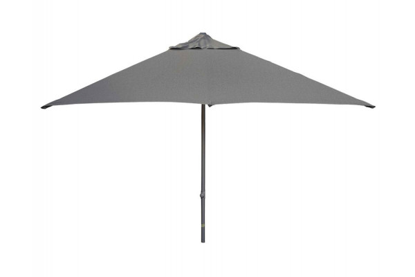 Image of Cane-line Major parasol m/slide system, 3x3 meter, Antracit Grey