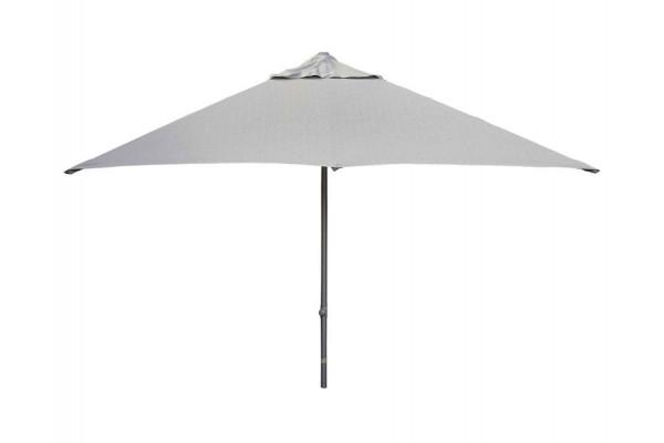 Image of Cane-line Major parasol m/slide system, 3x3 meter, Light Grey