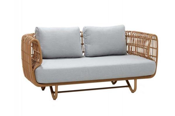 Cane-line Nest 2 pers. sofa m/hynder