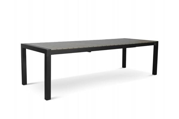 Image of   Lima udtræksbord - 100 x 205/275 - Grå