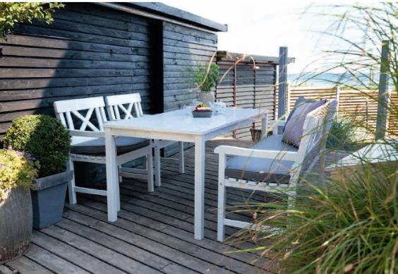 Alvorlig Hvide havemøbler - Stort udvalg til gode priser - Havemøbelland MN87