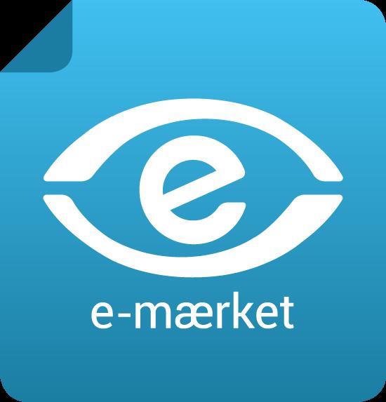 e-mærke logo